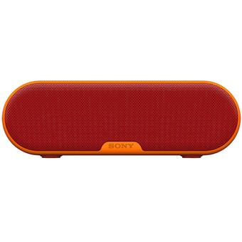buy SONY PORTABLE BLUETOOTH SPEAKER SRSXB2 RED :Sony