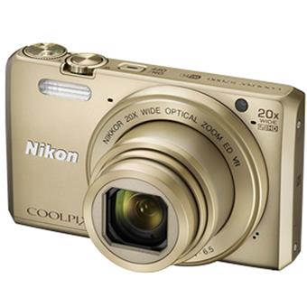 buy NIKON STILL CAMERA S7000 GOLD :Nikon