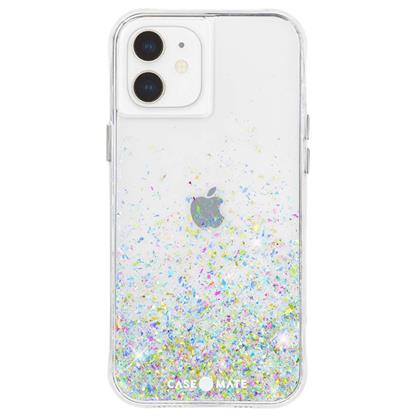 buy Case-Mate Twinkle Ombre Hard Back Case Cover for iPhone 12 Mini - Confetti :Casemate