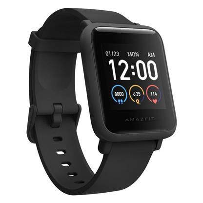 buy AMAZFIT SMART WATCH BIP S LITE CHARCOAL BLACK :Amazfit