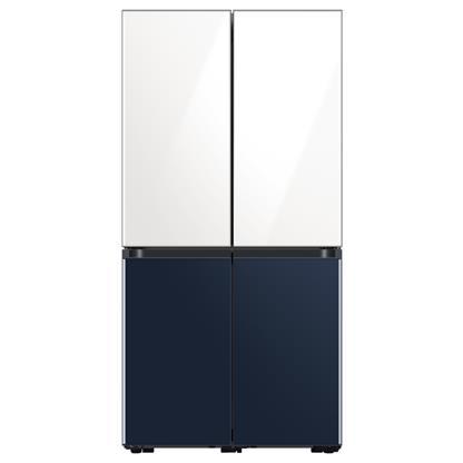 buy SAMSUNG REF RF63A91C377 GLAM WHITE NAVY (670) :Toughened Glass
