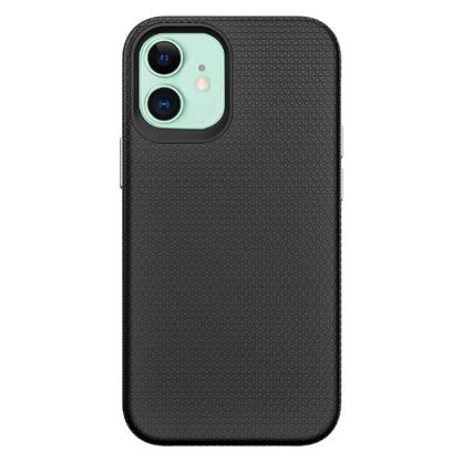 buy Stuffcool Spike Tough & Solid Dual Layer Hard Back Case Cover for iPhone 12 Mini - Black :Stuffcool