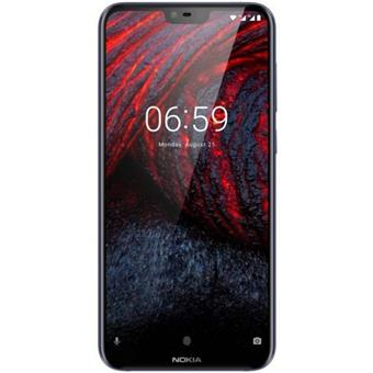 buy NOKIA MOBILE 6.1 PLUS TA1083 DS 4GB 64GB BLUE :Nokia