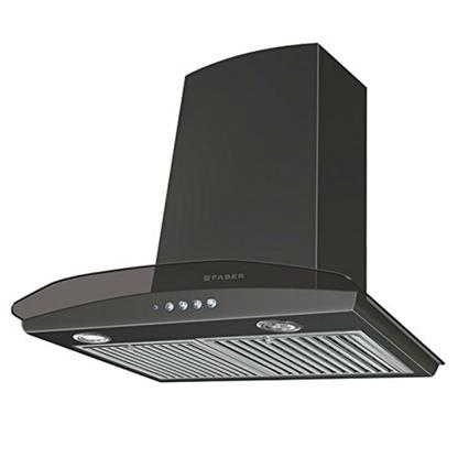 buy FABER CHIMNEY HOOD TRATTO PLUS LTW 60 BK :Faber