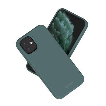 buy Stuffcool Silo Soft & Smooth Slimmest Back Case Cover for iPhone 12 Mini - Green :Stuffcool