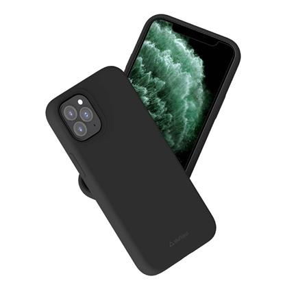 buy Stuffcool Silo Soft & Smooth Slimmest Back Case Cover for iPhone 12/12 Pro - Black :Stuffcool