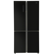 buy Haier HRB738BG 712Ltr Side-by-Side Refrigerator (Black Glass)