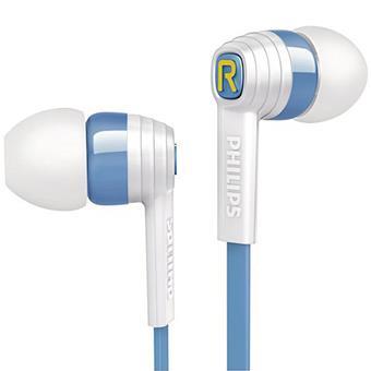 buy PHILIPS EARPHONE SHE7055AR BLUE & WHITE :Philips