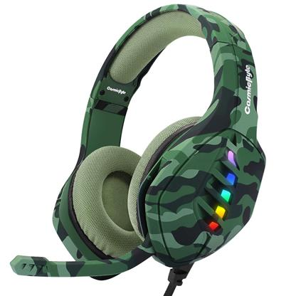buy Cosmic Byte GS430 Gaming Headphone with Mic (Camo Green) :Cosmic Byte