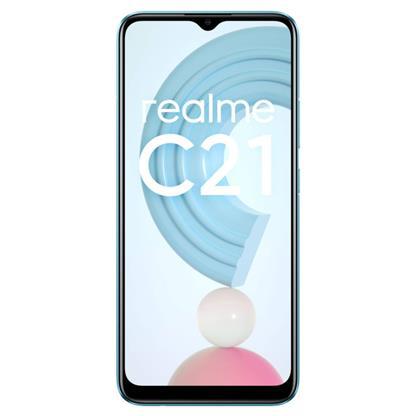 buy REALME MOBILE C21 RMX3201 3GB 32GB CROSS BLUE :Smartphones