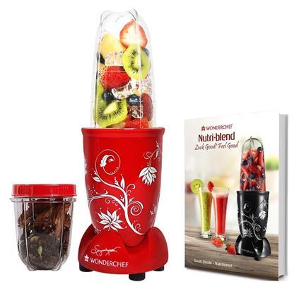 buy WONDERCHEF MIXER NUTRI BLEND RED :Wonderchef