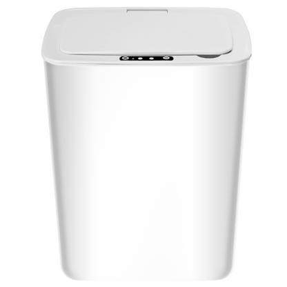 buy SHEFFIELD INTELLIGENT RECHARGEABLE DUSTBIN WHITE :Dustbin