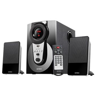 buy INTEX 2.1 MULTIMEDIA SPEAKERS IT2490FMUBT :Intex
