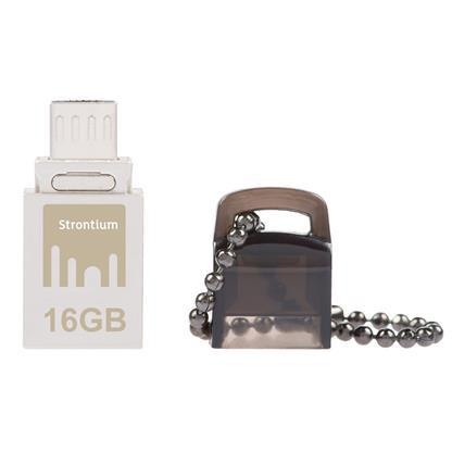 buy STRONTIUM PENDRIVE 16 GB NITRO OTG USB 3.0 :Pendrive