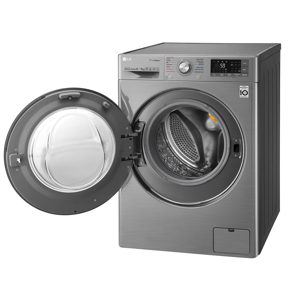 LG F4J8VHP2SD 9/5KG Fully Automatic Front Load Washing