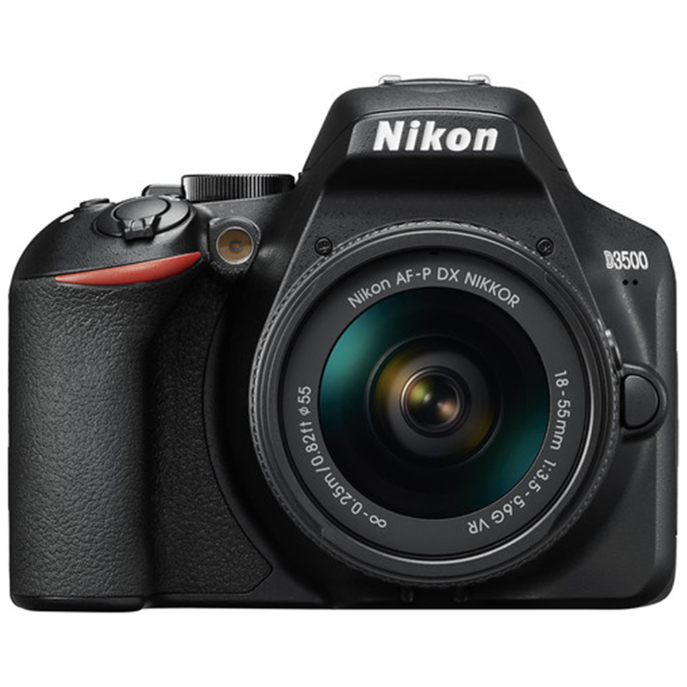 Nikon D3500 DSLR Camera (18-55mm, Black) Price in India