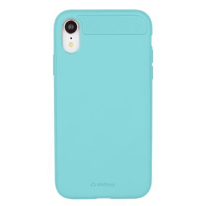 buy Stuffcool Soft Flexible TPU Armour Back Case Cover for Google Apple iPhone XR - Mint (Made In South Korea) :Stuffcool