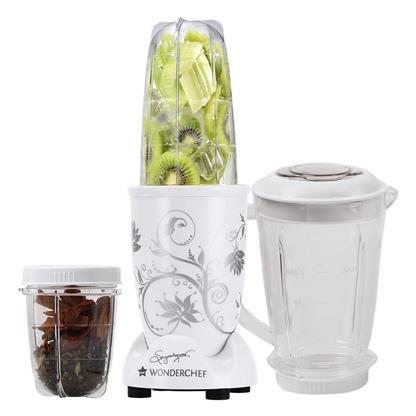 buy WONDERCHEF NUTRI-BLEND WHITE WITH JAR :Wonderchef