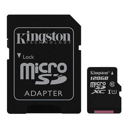 buy KINGSTON 128GB MICRO SD CRAD 80R CL10 :Kingston