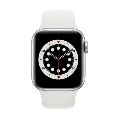 buy APPLE WATCH S6 40MM SIL AL WT SP CEL M06M3HN/A :Apple