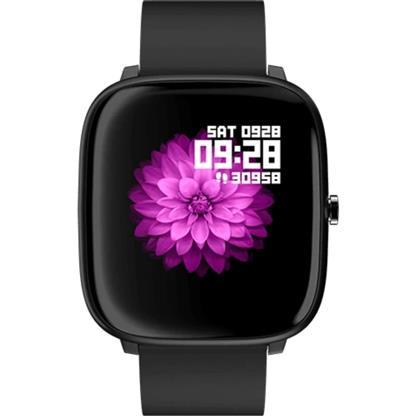 buy NOISE SMART WATCH COLORFIT QUBE CHARCOAL BLACK :Smart Watches & Bands