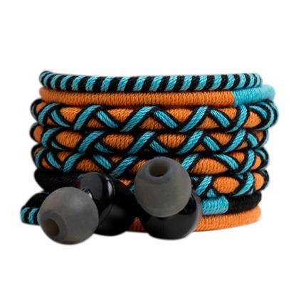 buy Crossloop Pro Series Earphone In Orange Black & Blue :Crossloop