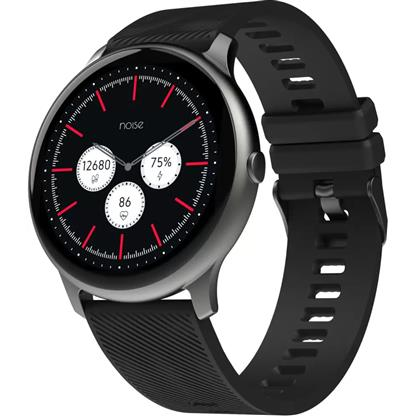 buy Noise NoiseFit Evolve Full Touch Control Smart Watch with AMOLED Display - Slate Black :Noise