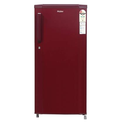 buy HAIER REF HED19TBR BURGUNDY RED (190) :Toughened Glass
