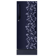 buy Haier HRD1954PBDE 195Ltr Direct Cool Refrigerator (Blue Daisy)