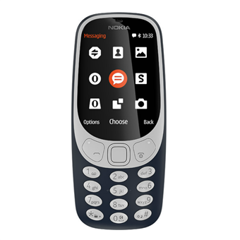 buy NOKIA MOBILE 3310 DS TA1030 NV BLUE :Nokia