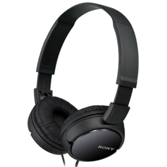 buy SONY HEADPHONE MDRZX110AP WITH MIC BLACK :Sony
