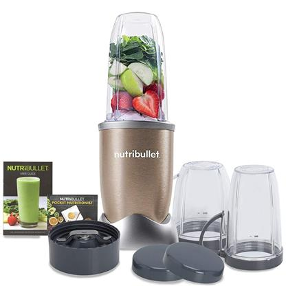 buy NUTRIBULLET 900 12PC SET CHAMPAGNE GOLD NB9 1249 :nutribullet