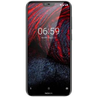 buy NOKIA MOBILE 6.1 PLUS TA1083 DS 4GB 64GB BLACK :Nokia