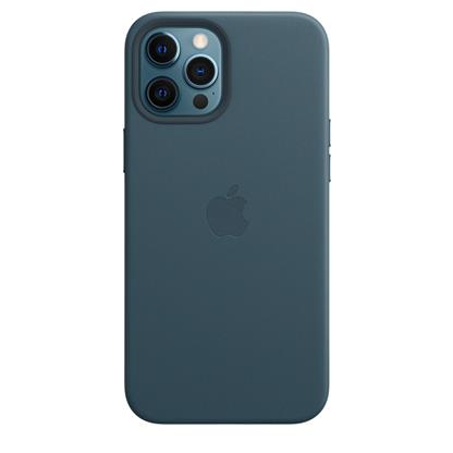 buy IPHONE 12 PRO MAX LEATHER CASE WITH MAGSAFE BALTIC BLUE :Apple