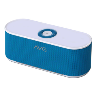 buy AVG PORTABLE BLUETOOTH SPEAKER F3 BLUE :