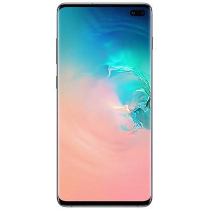buy SAMSUNG MOBILE S10 PLUS G975FD 8GB 128GB PRISM WHITE :Samsung