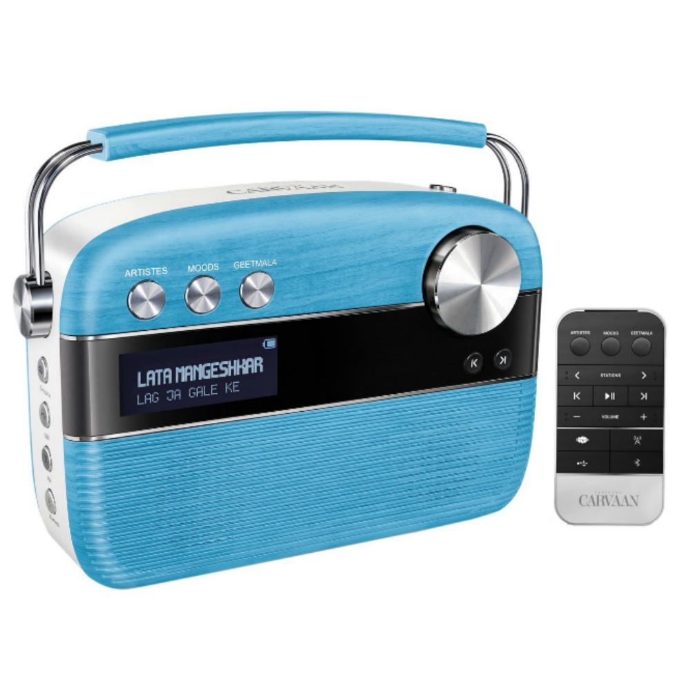 Saregama Carvaan Music Player (Blue) Price in India - buy Saregama