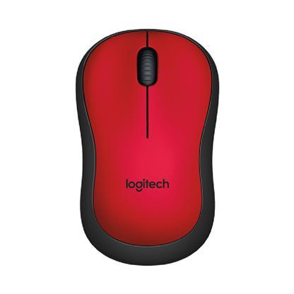 buy LOGITECH WIRELESS SILENT MOUSE M221 RED :Logitech