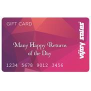 buy Vijay Sales Many Happy Returns Of The Day Gift Card-500