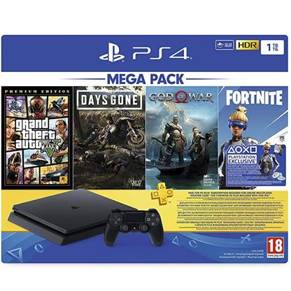 buy SONY PS4 1TB MEGA PACK (3 GAME + 1 GAME VOUCHER) 2020 :Sony