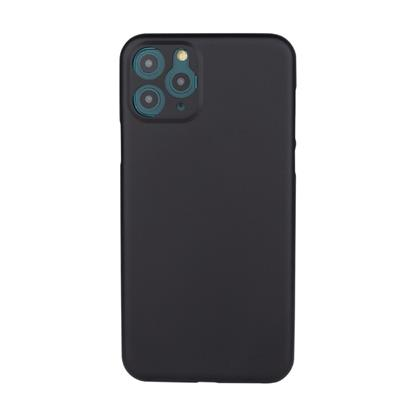 """buy Stuffcool Thins Ultra Slim Back Case Cover for Apple iPhone 11 Pro Max 6.5"""" - Black :Stuffcool"""