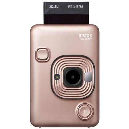 buy FUJIFILM INSTAX CAMERA MINI LIPLAY PLUS BLUSH GOLD :Fujifilm