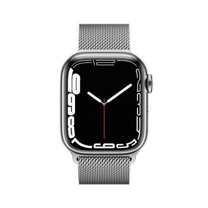 buy APPLE WATCH S7 41MM SIL SS SIL ML CEL MKHX3HN/A :Apple Watch