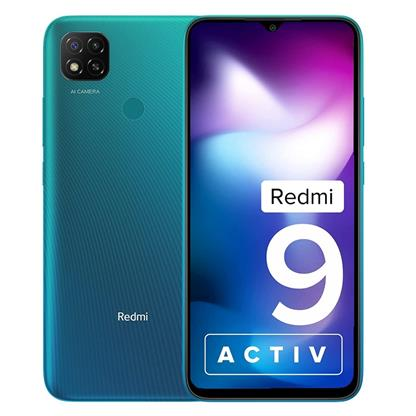 buy REDMI MOBILE 9 ACTIV 4GB 64GB CORAL GREEN :Coral Green