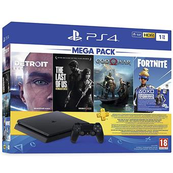 buy SONY PS4 1TB MEGA PACK (3 GAME + 1 GAME VOUCHER) :Sony