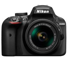 Nikon D3400 DSLR Camera (18-55mm, Black)