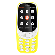 buy Nokia 3310 Dual SIM (Yellow)