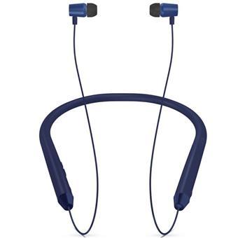 buy ITEK MSD EDITION VOICE ASSIST BT NECK BAND BEB011MSD BLUE :ITEK