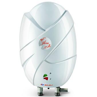 buy BAJAJ FLORA HEATER 3 LITRE 4.5 KW :Bajaj