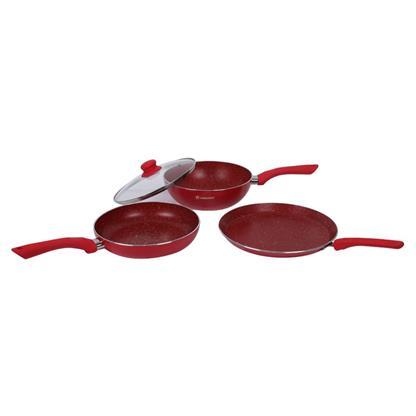 buy WONDERCHEF ROYAL VELVET PLUS SET RED(63152300) :Wonderchef
